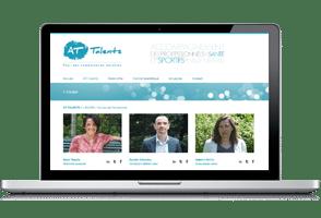 site wordpress at-talent