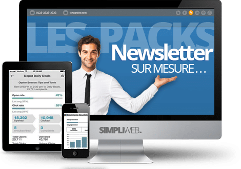 Les packs newsletter WordPress