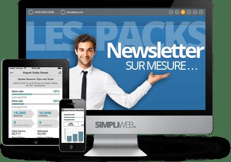 Les packs newsletter WordPress