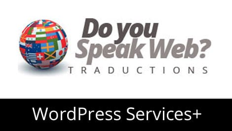 Module wordpress traduction site blog