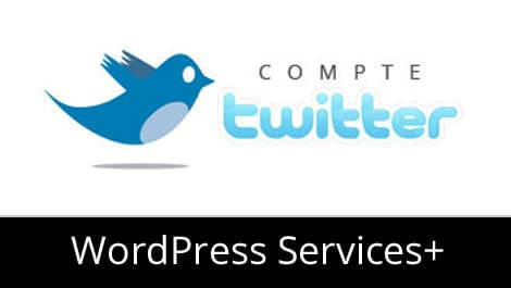 Module wordpress compte twitter site blog