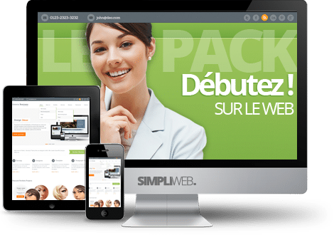 Prestataire WordPress Paris Pack Web Starter