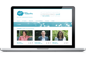 site wordpress at-talent