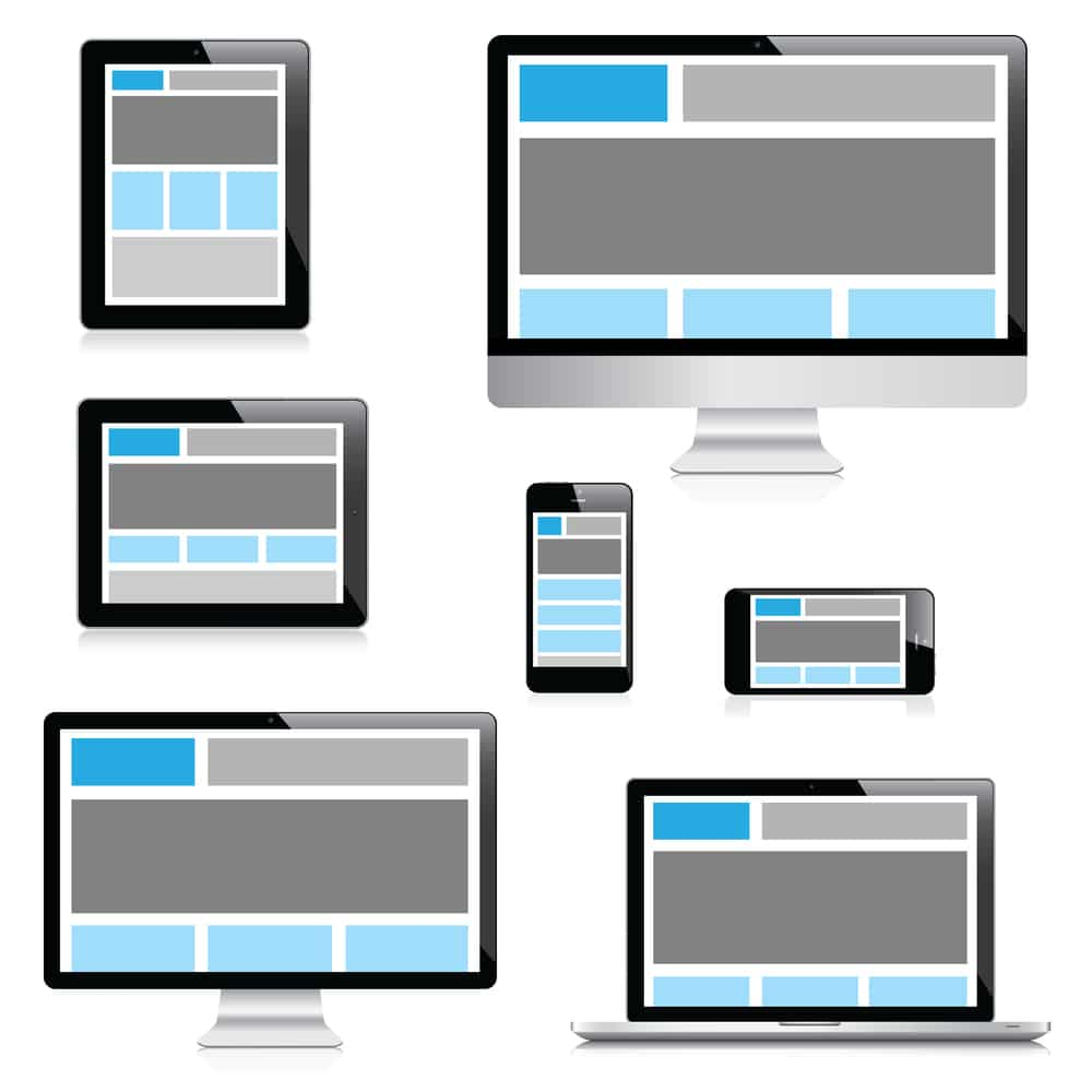 Site web WordPress responsive